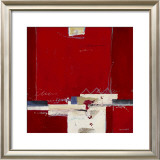 Red III Print by Ron van der Werf