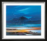 Flocks Of Gulls Limited Edition Framed Print by Pam Carter