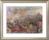 View of Prague Posters by Oskar Kokoschka