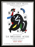 La Melodio Acide 1980 Limited Edition Framed Print by Joan Miró