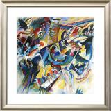 Improvisation Klamm Prints by Wassily Kandinsky
