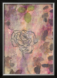 Rose Impressions II Prints by Sara Abbott