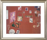 The Red Studio Print by Henri Matisse