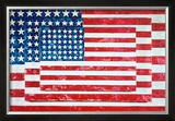 Three Flags, 1958 Posters by Jasper Johns