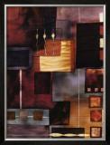 Velvet Jigsaw Poster by Muriel Verger