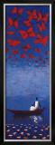Cerulean Passage Posters by Michel Rauscher