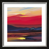 Settling For The Night Limited Edition Framed Print by Pam Carter