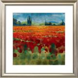 Spring Meadows II Prints by Selina Werbelow