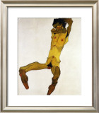 Nu Masculin Assis I, c.1910 Posters by Egon Schiele