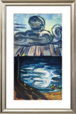 Sea and Clouds Prints by Max Beckmann