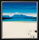 View To Rhum Limited Edition Framed Print by Pam Carter
