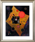 Akzent in Rosa, 1926 Poster by Wassily Kandinsky