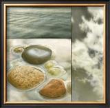 Zen Elements II Prints by Donna Geissler