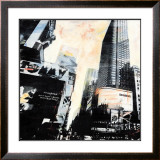Times Square, New York Prints by J.m.g.