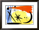 Lunarscape, c.1953 Prints by Alexander Calder