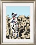 Inspection of the Territory Print by Jean Dubuffet