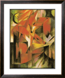 Die Fuchse, 1913 Posters by Franz Marc
