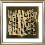 At Pace Columbus, Gold Art by Louise Nevelson
