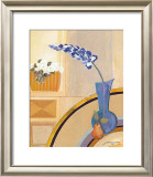 Blaue Vase Prints by Juliane Jahn
