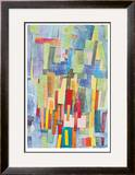 Schrappnel 5 Limited Edition Framed Print by  Jaquiel