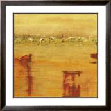 Orange Landscape Prints by Rose Richter-armgart
