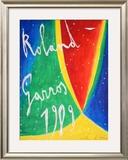 Roland Garros 1989 - De Maria Prints by Nicola De Maria