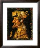 Autumn, c.1573 Prints by Giuseppe Arcimboldo