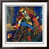 Blue Beauties Limited Edition Framed Print by Peter Mitchev