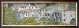 Church at Cassone Print by Gustav Klimt