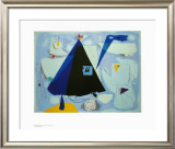 The Black Tent Prints by Willi Baumeister