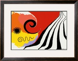 Pinwheel and Flow, c.1958 Prints by Alexander Calder