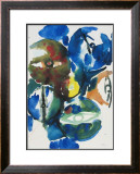 Green Predominating Poster by Ernst  Wilhelm Nay
