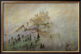Morning Mist in the Mountains Framed Giclee Print by Caspar David Friedrich