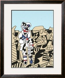 Inspection of the Territory Posters by Jean Dubuffet