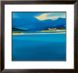 Luskentyre Blues Limited Edition Framed Print by Pam Carter
