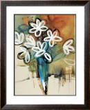 Floral Trance I Art by Natasha Barnes