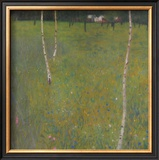 Farmhouse with Birch Trees, 1900 Posters by Gustav Klimt