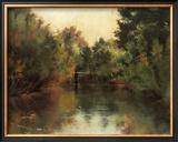 Secluded Pond Framed Giclee Print by Gustav Klimt