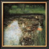 The Swamp Framed Giclee Print by Gustav Klimt