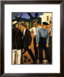 Les Joueurs de Boules, c.1923 Posters por Auguste Herbin
