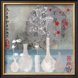 Asia Vases Prints by Helene Druvert