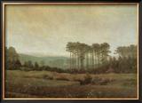 Afternoon Framed Giclee Print by Caspar David Friedrich