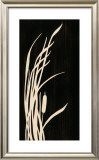 Bulrush Silhouette I Art