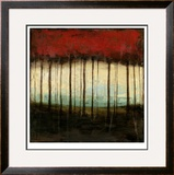 Autumnal Abstract I Limited Edition Framed Print by Jennifer Goldberger