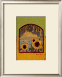 Three Sunflowers Art by Thomas LaDuke
