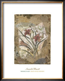 Tigerlily and Lace Prints by David Hewitt