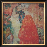 Women Friend, 1916 Prints by Gustav Klimt
