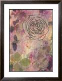 Rose Impressions I Print by Sara Abbott