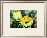 Yellow Tulips Poster by Hanneke Floor