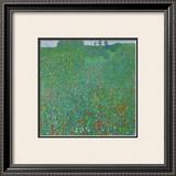 Poppy Field, 1907 Prints by Gustav Klimt